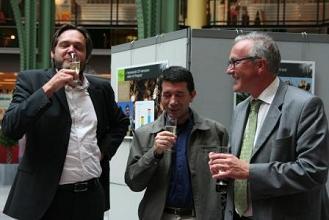 Joris Rossie, Andrés Gonzàlez Aguilera en Rudy Coddens