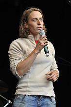 Marie Smekens, deeltijds bio-boerin uit Mons/Bergen