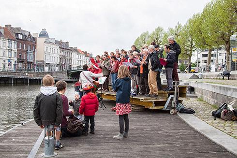 Sapukay  o.l.v. Bruno De Smet – Pré-opening TRACK - 11 mei 2012 – Rodetorenkaai (Gent)