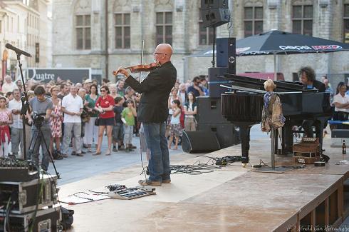 CitronBleu - Nils De Caster (viool) en Yves Meersschaert (vleugelpiano)