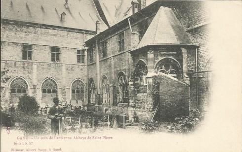 Gent Sint Pietersabdij in de Sint-pietersabdij