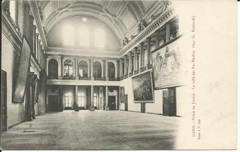 142 Palais de Justice- La salle des Pas-Perdus. 1843 (L. Roelandt)