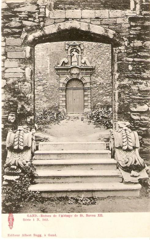 Serie 1 nr. 162 Ruïnes Sint-Baafsabdij XII