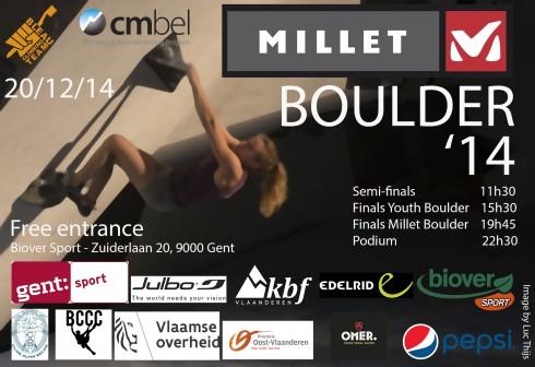 Millet Boulder 2014
