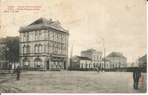 Serie 1 nr. 342 Station Eeklo-Brugge